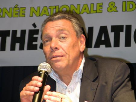 L'écrivain Eric Miné