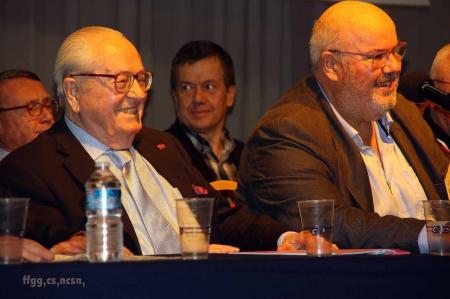 Jean-Marie Le Pen et Roland Hélie